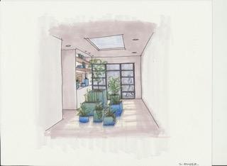 Plant Display drawing