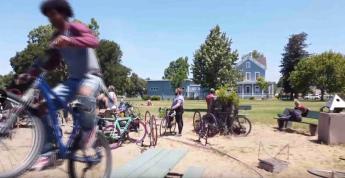 Robin D. López, #RichmondSpeaks: Bike For Justice, digital video