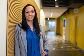 Paralegal Studies graduate Natalia Aranda Castro