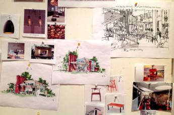 Concept board by Jennifer Mahoney