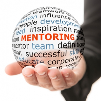 Mentorship word cloud