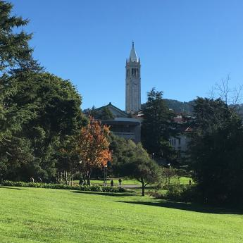 Campanile on UC Berkeley campus