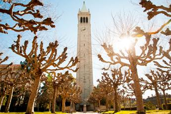 The treasured Campanile, a symbol of Berkeley and the clock tower that Sixiong sees everyday while at the Haas School of Business.
