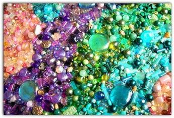 "Image of colorful stones from Tropic of Candor website post, ""Somewhere on the Spectrum"""