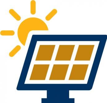 green power grid icon