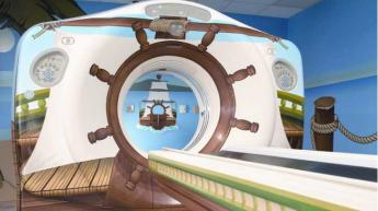 MRI machine designed for children