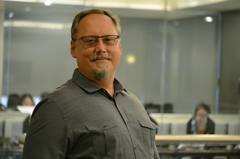 Behavioral Health Sciences' Honored Instructor Richard Sprott engages his students online and in the classroom.