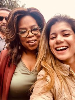 Gabriela meets Oprah Winfrey!