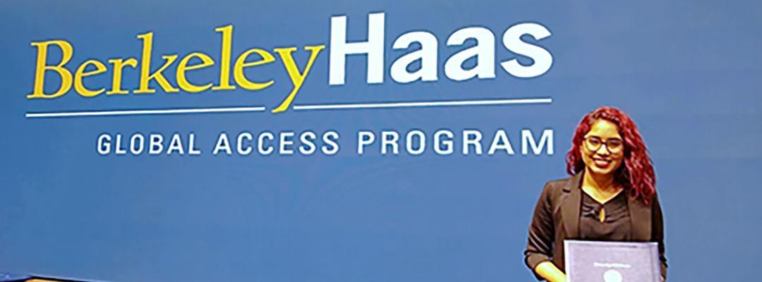 Berkeley Haas Global Access Program Certificate