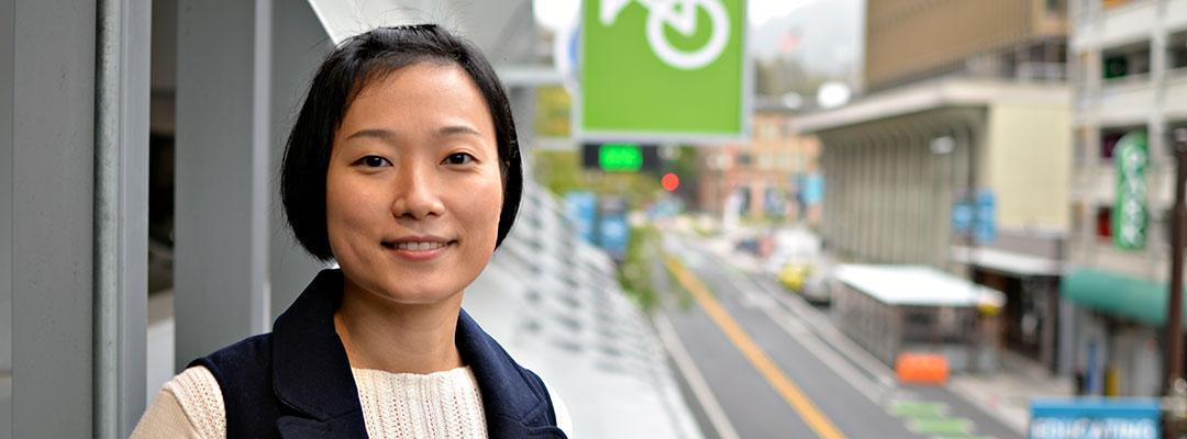 Graphic Design certificate graduate Lulu Wang