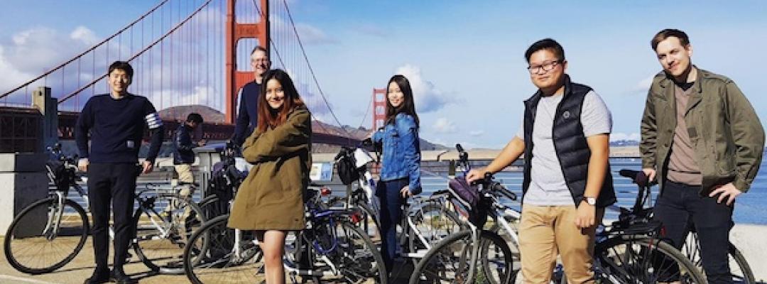 BHGAP students visit the Golden Gate Bridge in San Francisco