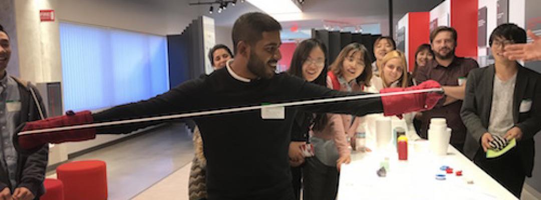 International students visit tech companies around Silicon Valley