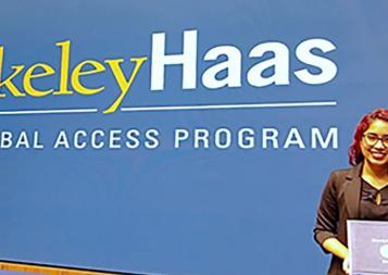 Berkeley Haas Global Access Program Certificate