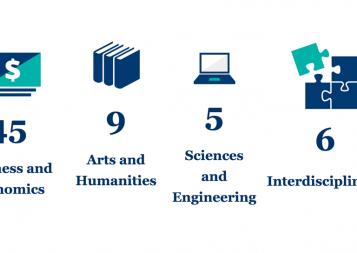 BHGAP student majors summary