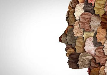 Image of multiple skin types on faces
