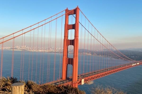 Golden Gate Bridge blog well