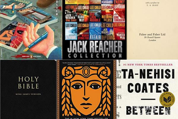 Collage of book covers that our staff is reading during National Read a Book Day on Sept. 6.
