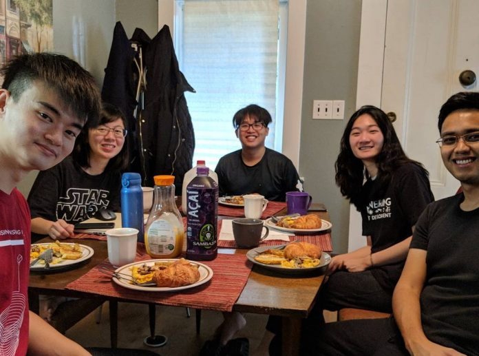 IDP Students Breakfast Omlettes