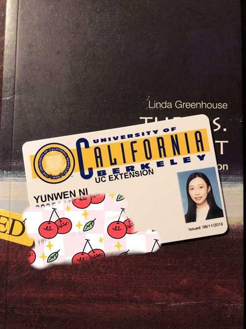 Yunwen Ni Cal1 card