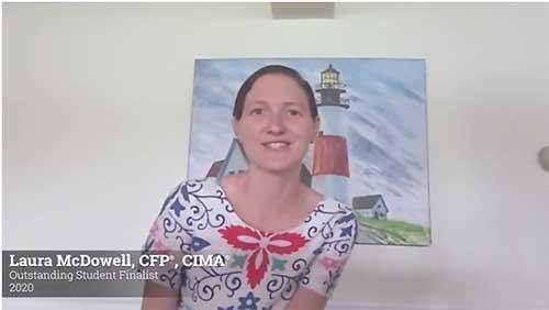 Screenshot of Laura McDowell