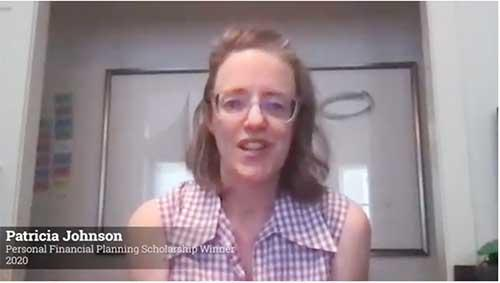 Screengrab of Patricia Johnson