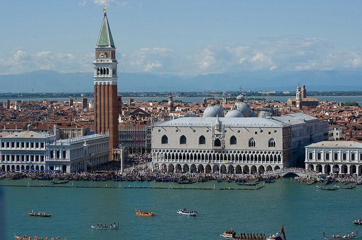 View of San Marco from San Giorgio Maggiore